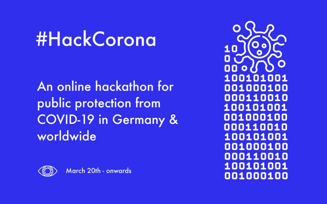 Calling the global data science community to #HACKCORONA